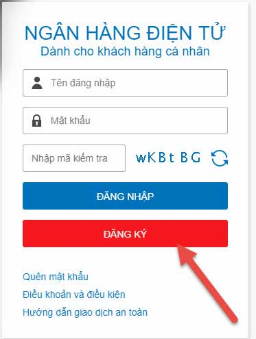 Internet Banking MB Bank dang ky